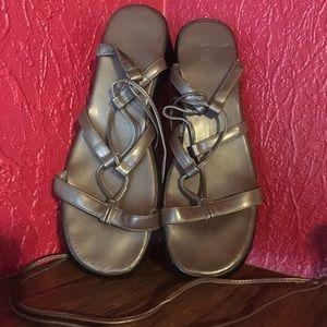Victoria's Secret Shoes - RARE VINTAGE VSC gladiator sandals 9